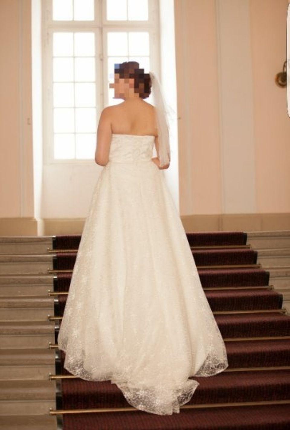 Alles Für Die Hochzeit  Brautkleid Größe 36 40 Mit