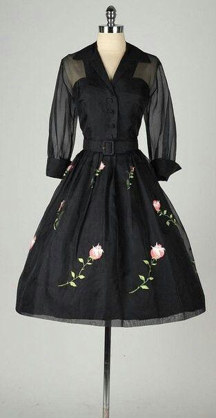 Alta Costura/Años 1950/ | 50Er Jahre Kleidung, Schöne