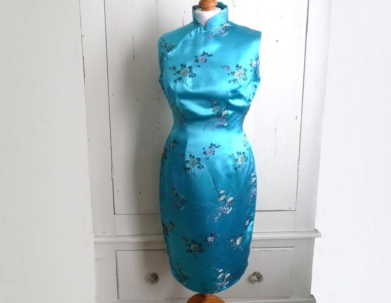 Alte Chinesische Kleid Jahrgang Cheongsam Von