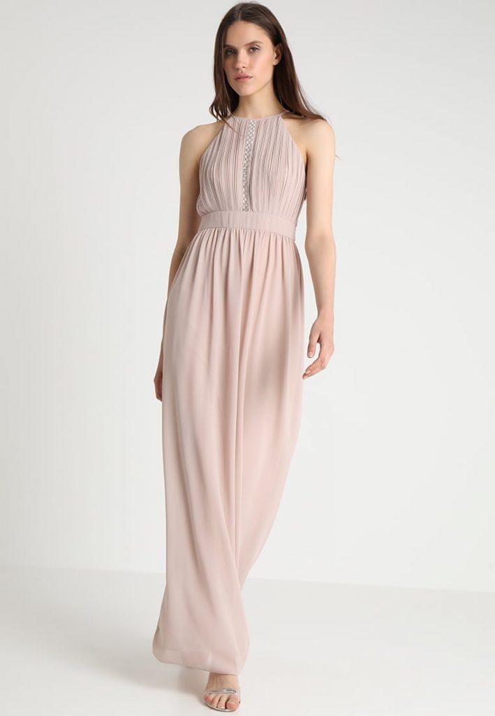 Altrosa Kleid Lang  Shophirlines
