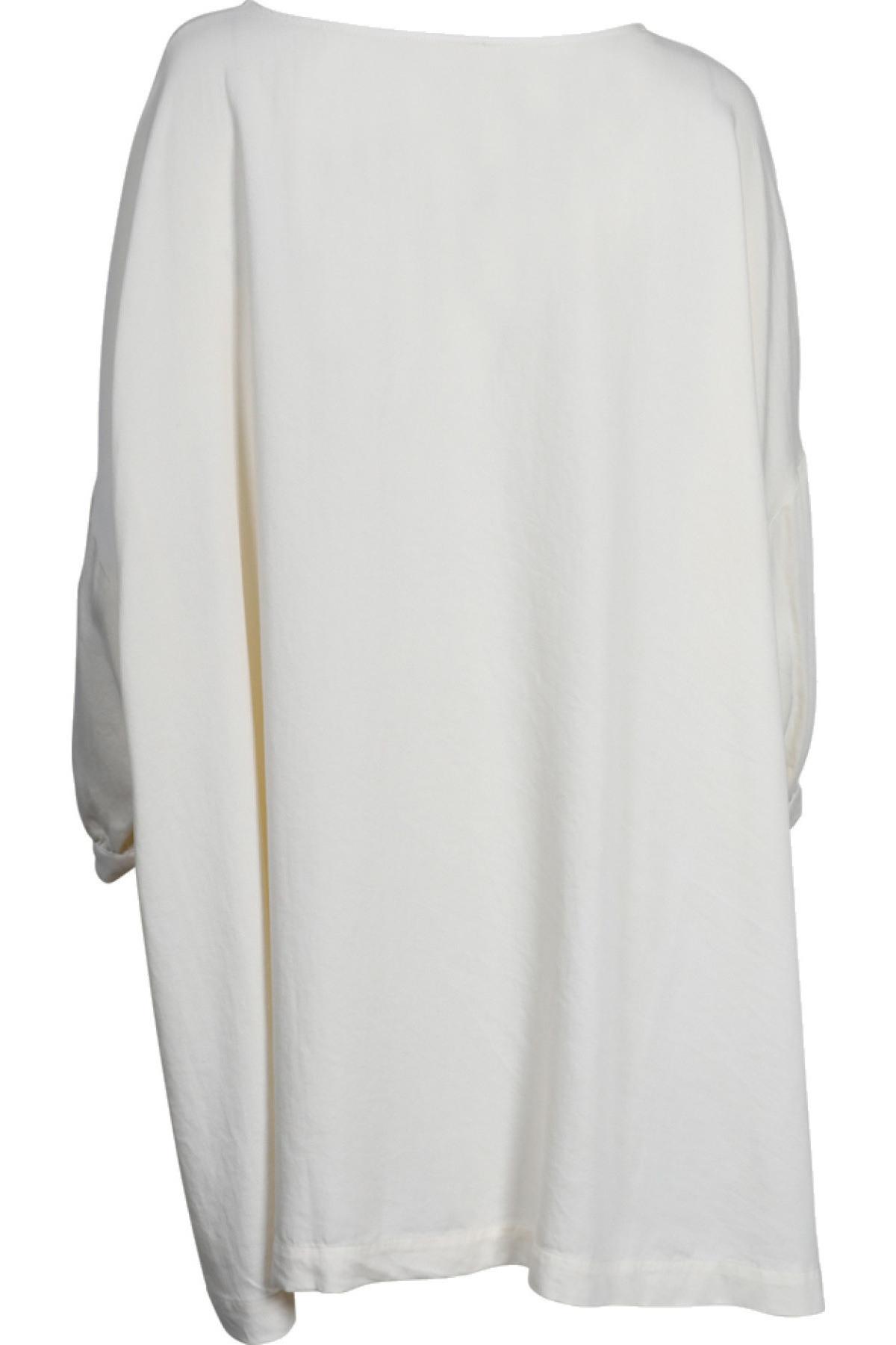 American Vintage Kleid Kate Aus Lyocell In Creme 422301