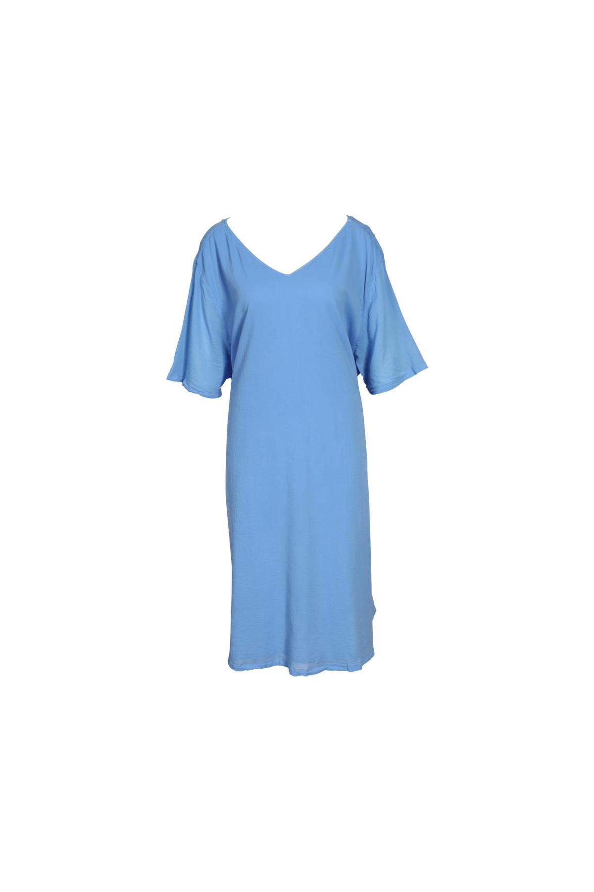American Vintage Kleid Ybanut In Hellblau 429982  Greta
