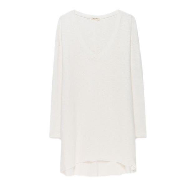 American Vintage Womens Lamastate Kleid Pearl White