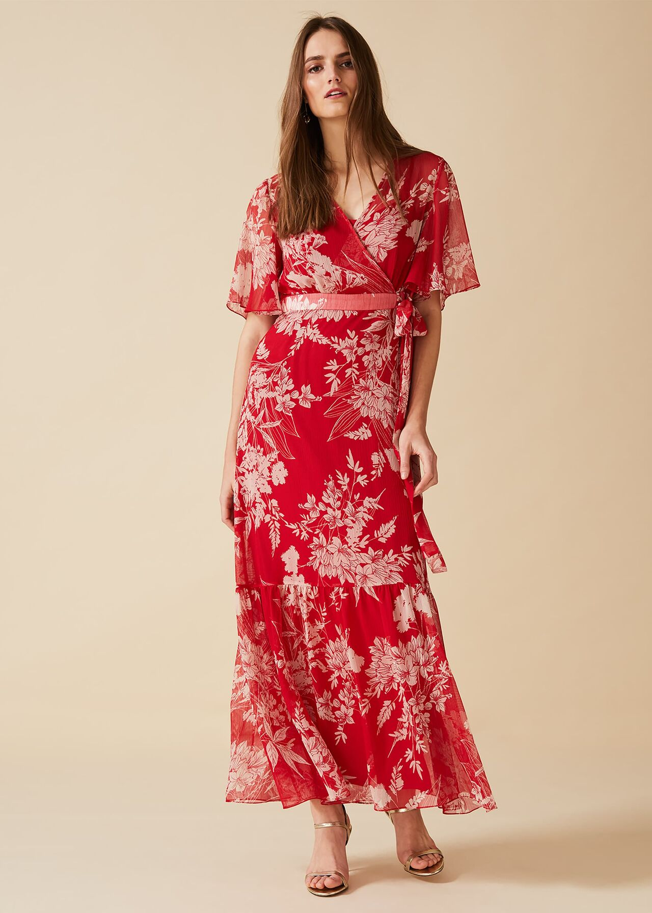 Amy Printed Maxi Dress  Phase Eight  Phase Eight