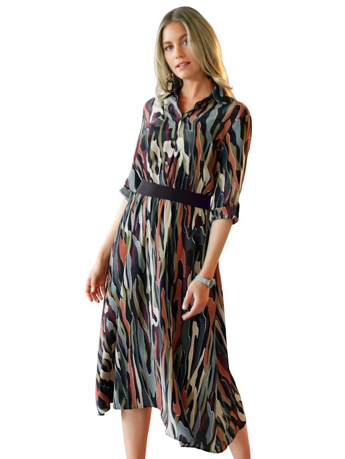 Amy Vermont Kleid Mit Alloverdruck  Wenz