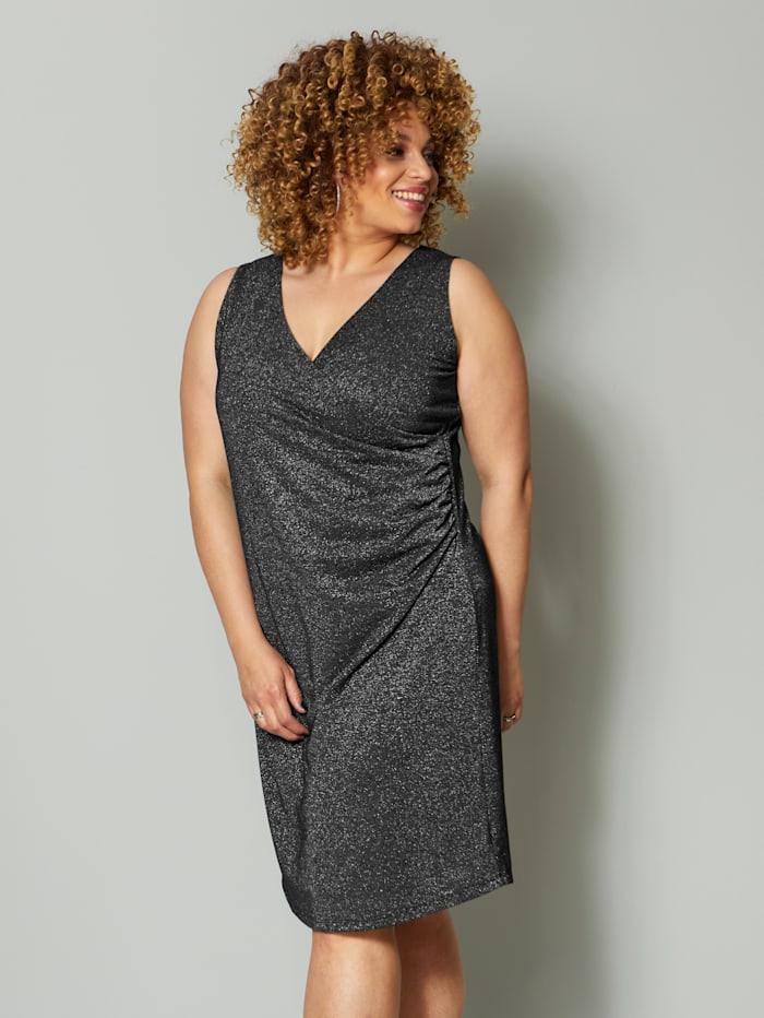 Angel Of Style Jerseykleid Mit Glanzgarn  Happy Size