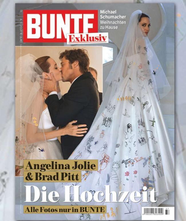 Angelina Jolie Und Brad Pitt Details Zur Traumhochzeit