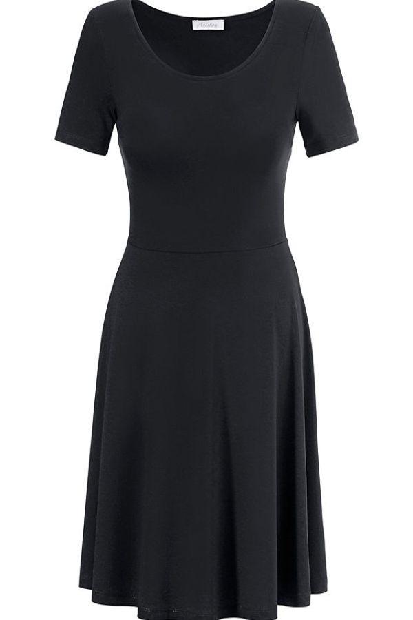 Aniston Casual Sommerkleid Mit Rundhalsausschnitt Online