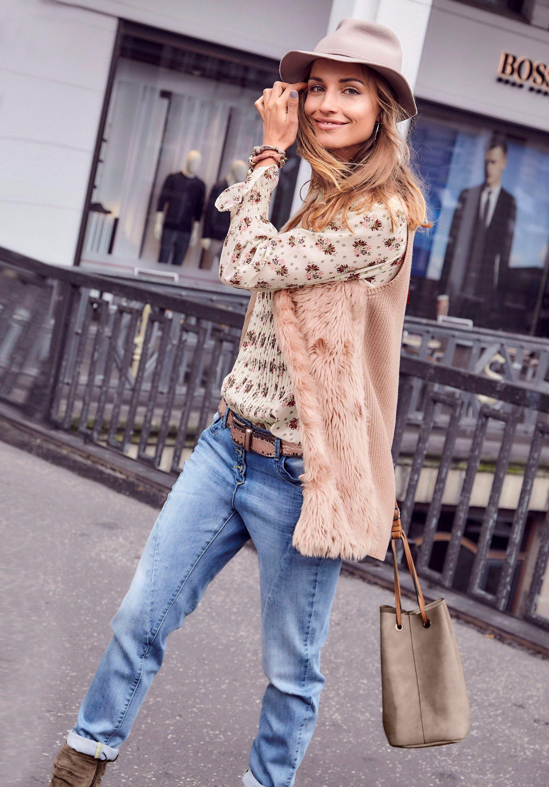 Aniston Longweste Aniston Baur Damenmode Outfit Mode