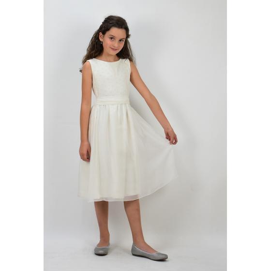 Anna Ivory  Slim Fit Kommunionkleid Für Zierliche Mädchen