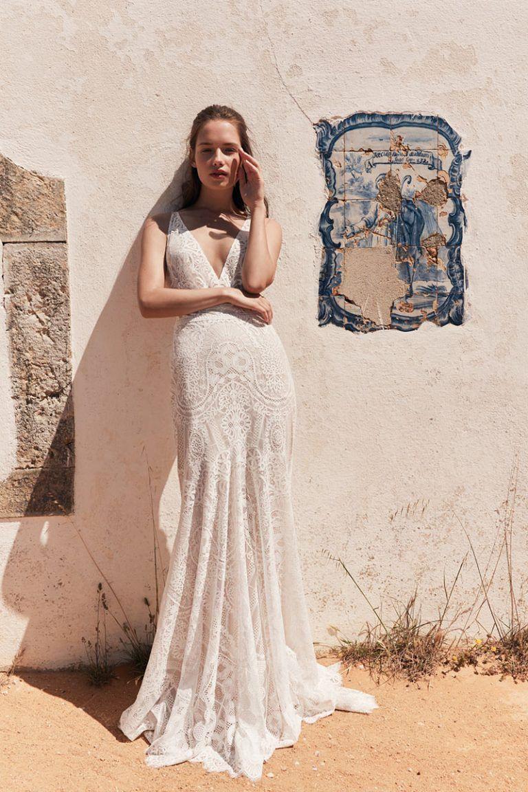 Anna Kara 2020  Kleid Hochzeit Einzigartiger Brautkleid