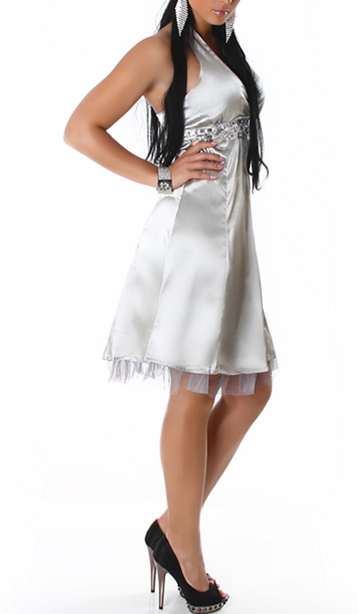 Annawear - Petticoat Kleid Silber