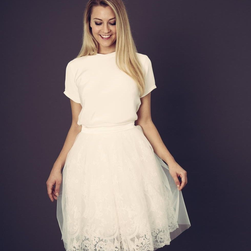 Anne Wolf Brautkleider  Hochzeitsgäste Outfits Kleid