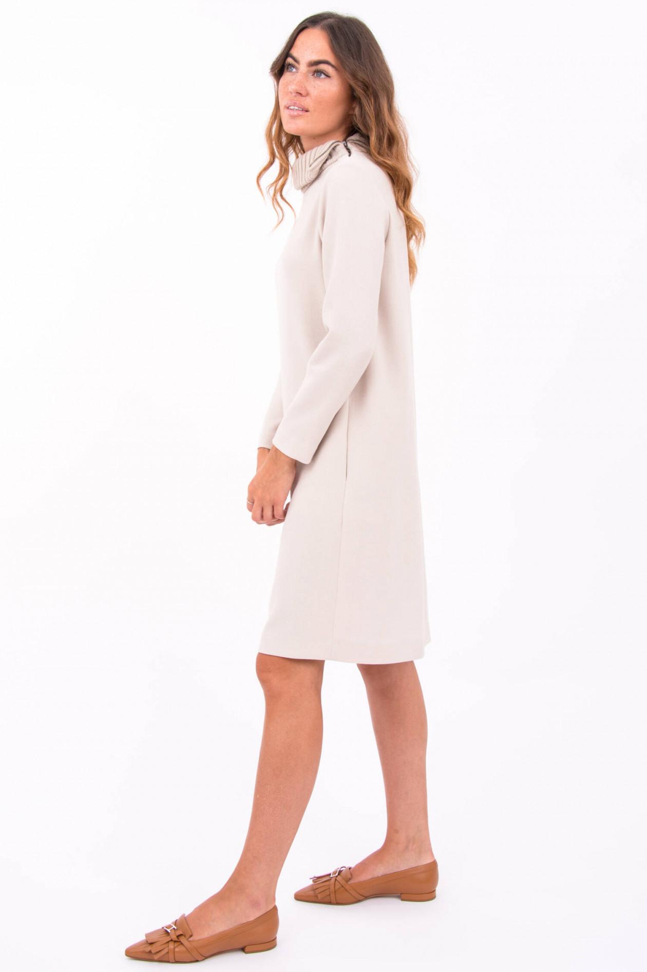 Antonelli Firenze Kleid Mondrian In Hellbeige  Gruenerat