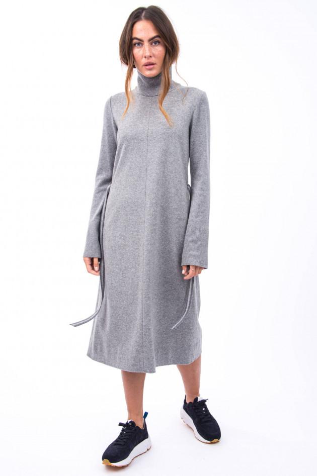 Antonelli Firenze Wollkleid Mit Rippstrickdetails In