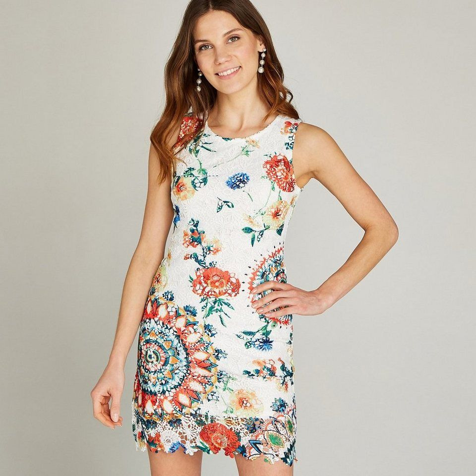 Apricot Etuikleid »Multicolour Mesh Shift Dress« In