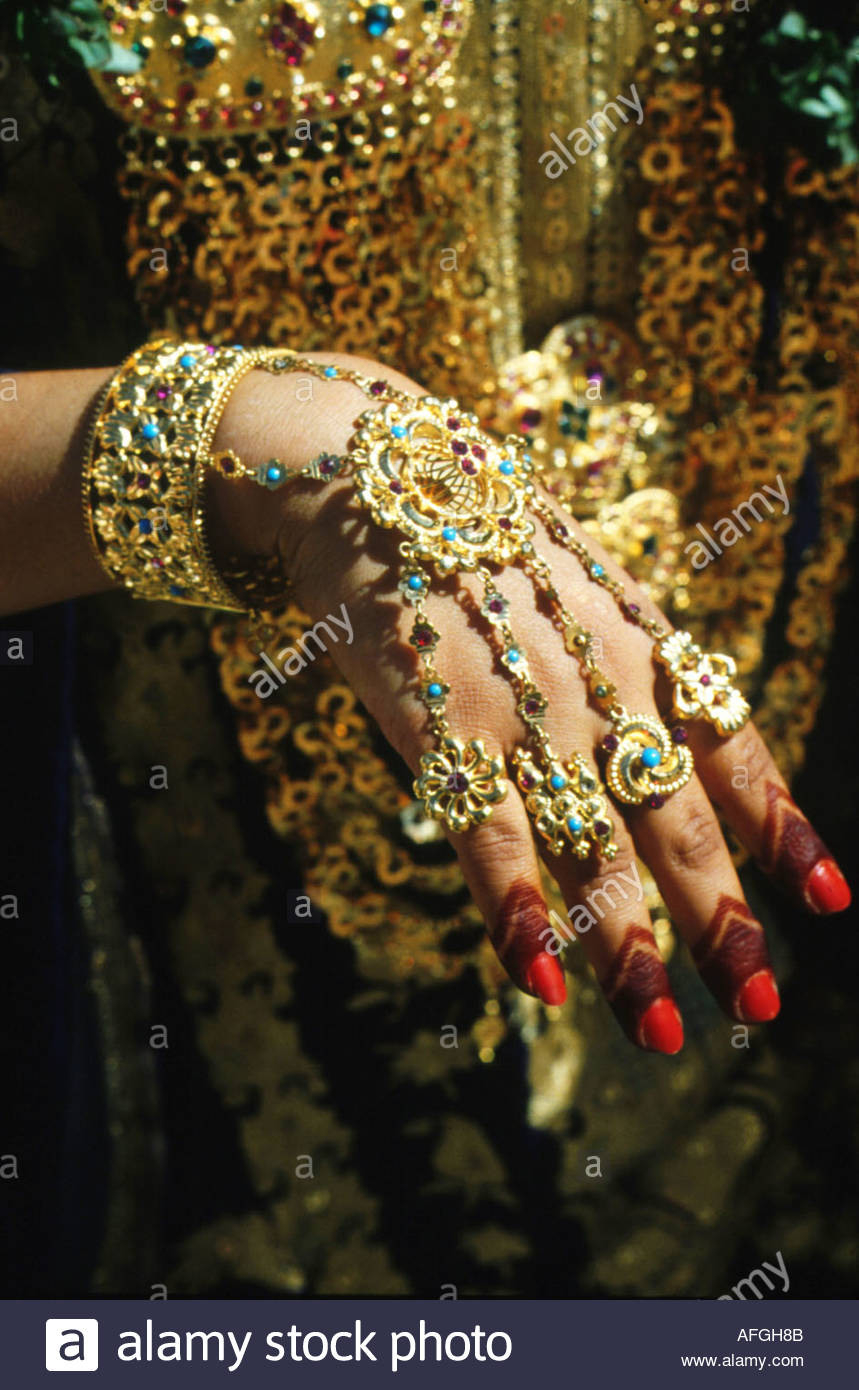 Arabische Braut Stockfotos  Arabische Braut Bilder  Alamy