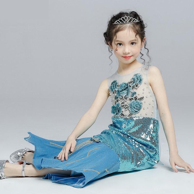 Ariel Kleid Little Mermaid Kostüm Weihnachten Kleidung