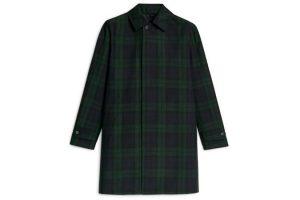 Arket Technischer Hopsack Topcoat  Menswear Coat Men'S