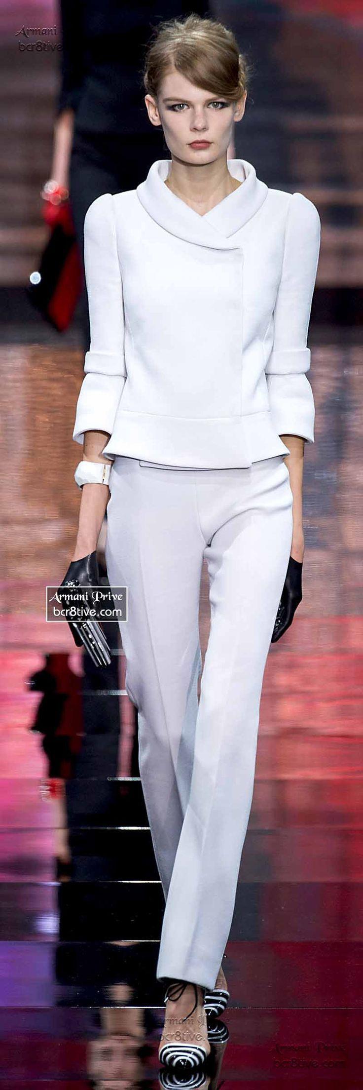 Armani Privé Haute Couture Fall Winter 201415 Collection