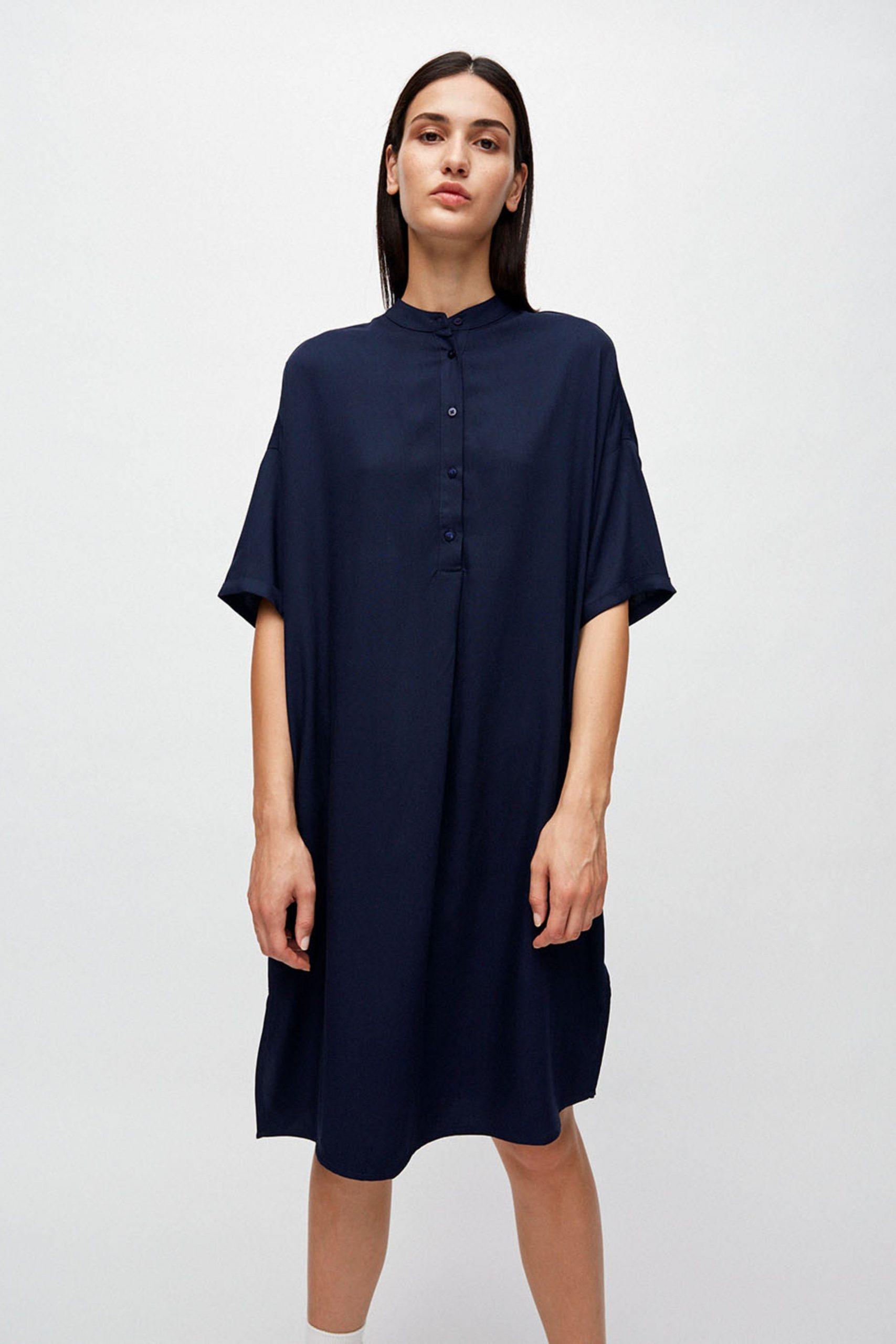 Armedangels Kleid Maarjuli Blau  Loveco