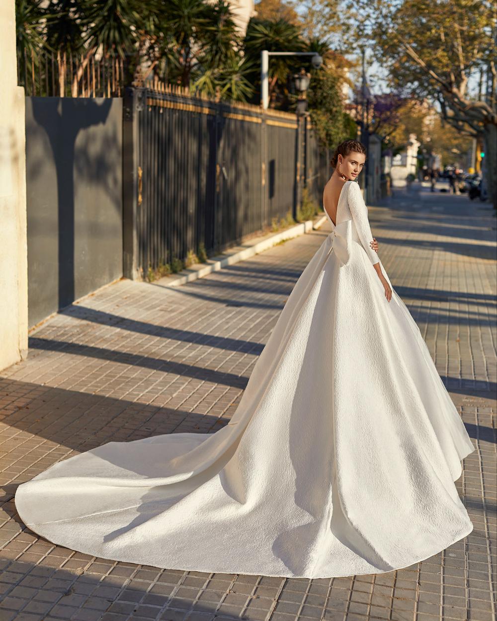 Ärmelhochzeitskleider Brautkleid Lange Ärmel