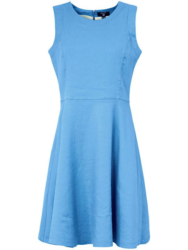 Ärmelloses Kleid Gant Blau Von Peter Hahn Ansehen