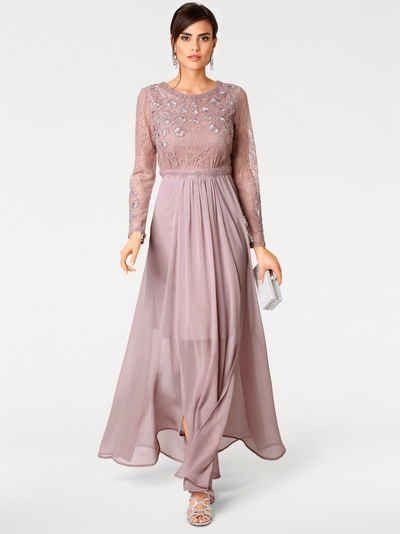 Ashley Brookeheine Abendkleid Mit Spitze  Abendkleid