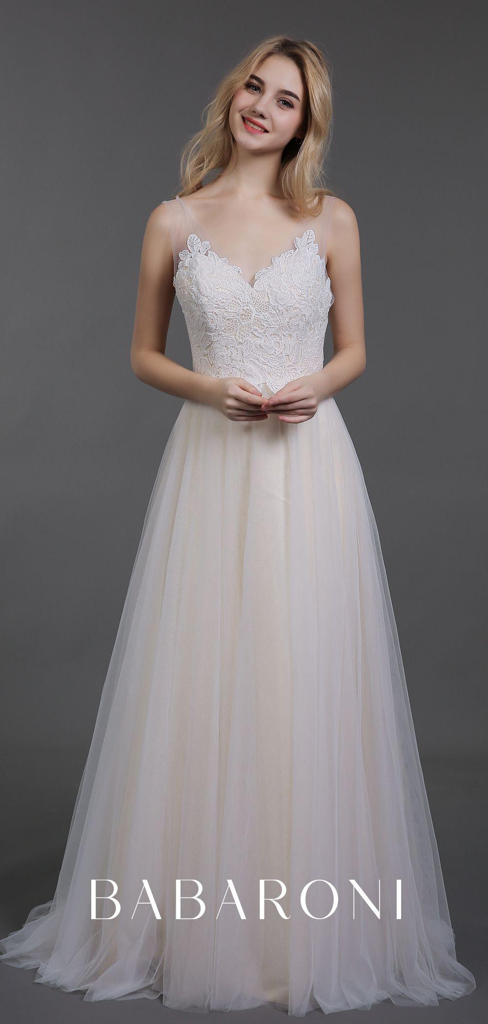 Babaroni Cyan  Kleid Hochzeit Brautkleid Stoff Und