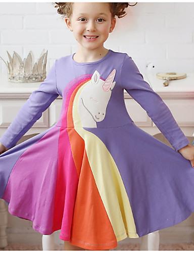 Baby Mädchen Regenbogen Kleid Purpur 7699737 2021  1699