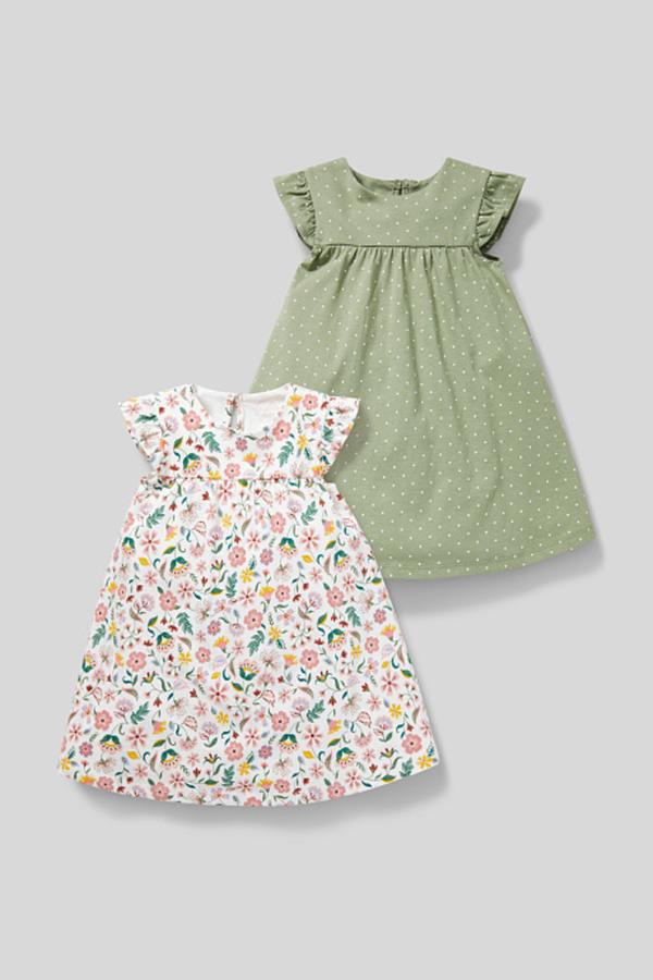 Babykleid  Biobaumwolle  2Er Pack Von Ca Ansehen