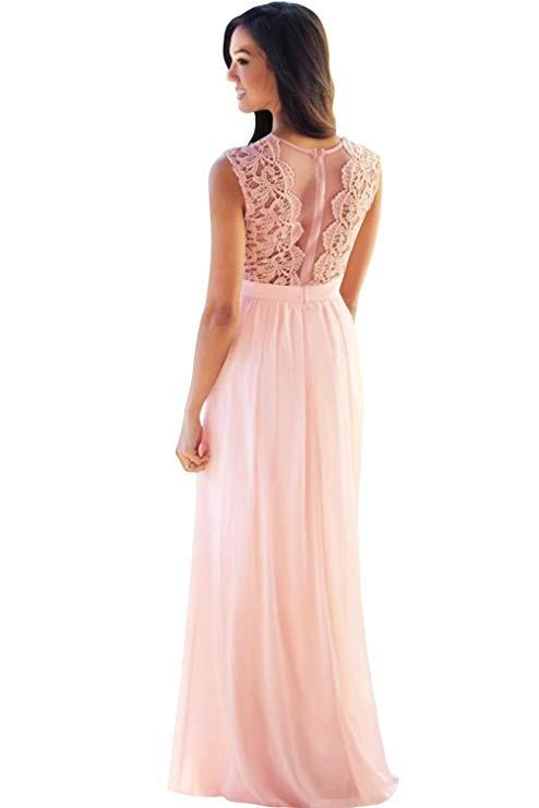 Babyonline® Damen Kleid Festliche Kleider Brautjungfer