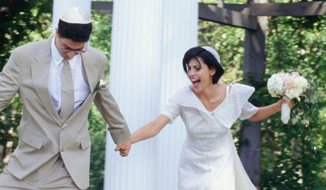 Baldachin Jüdische Hochzeit