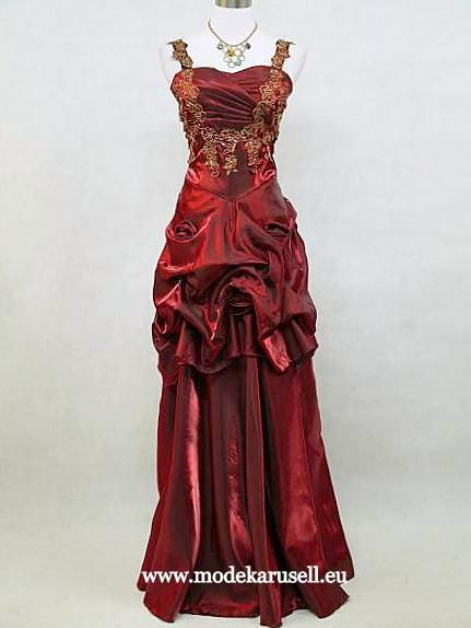 Ballerina Abendkleid Online In Weinrot Burgundy Dunkelrot