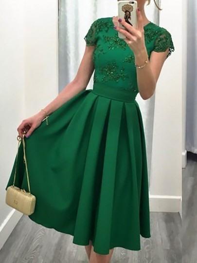 Ballkleid Abendkleid Grün