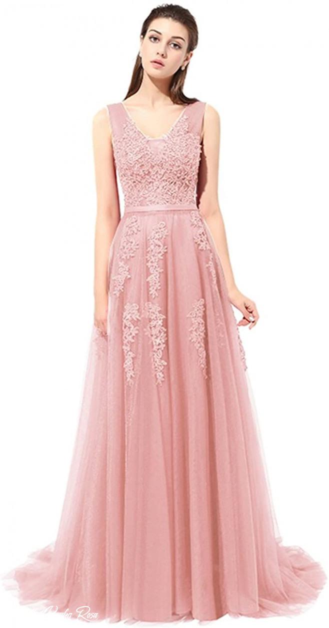 Ballkleid Kaufen Rosa  Abendkleider