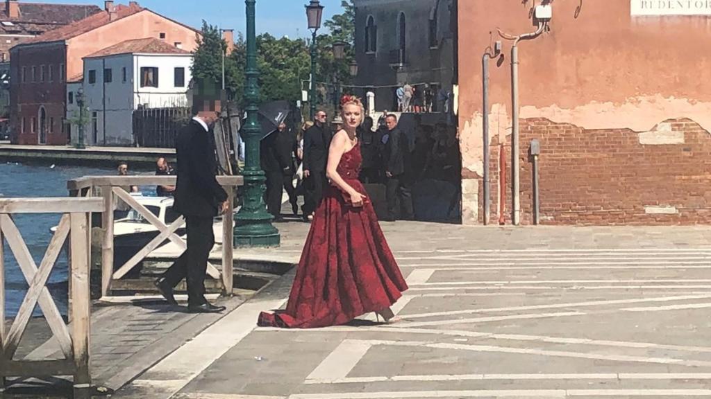 Barbara Meier Starauflauf Bei Traumhochzeit In Venedig
