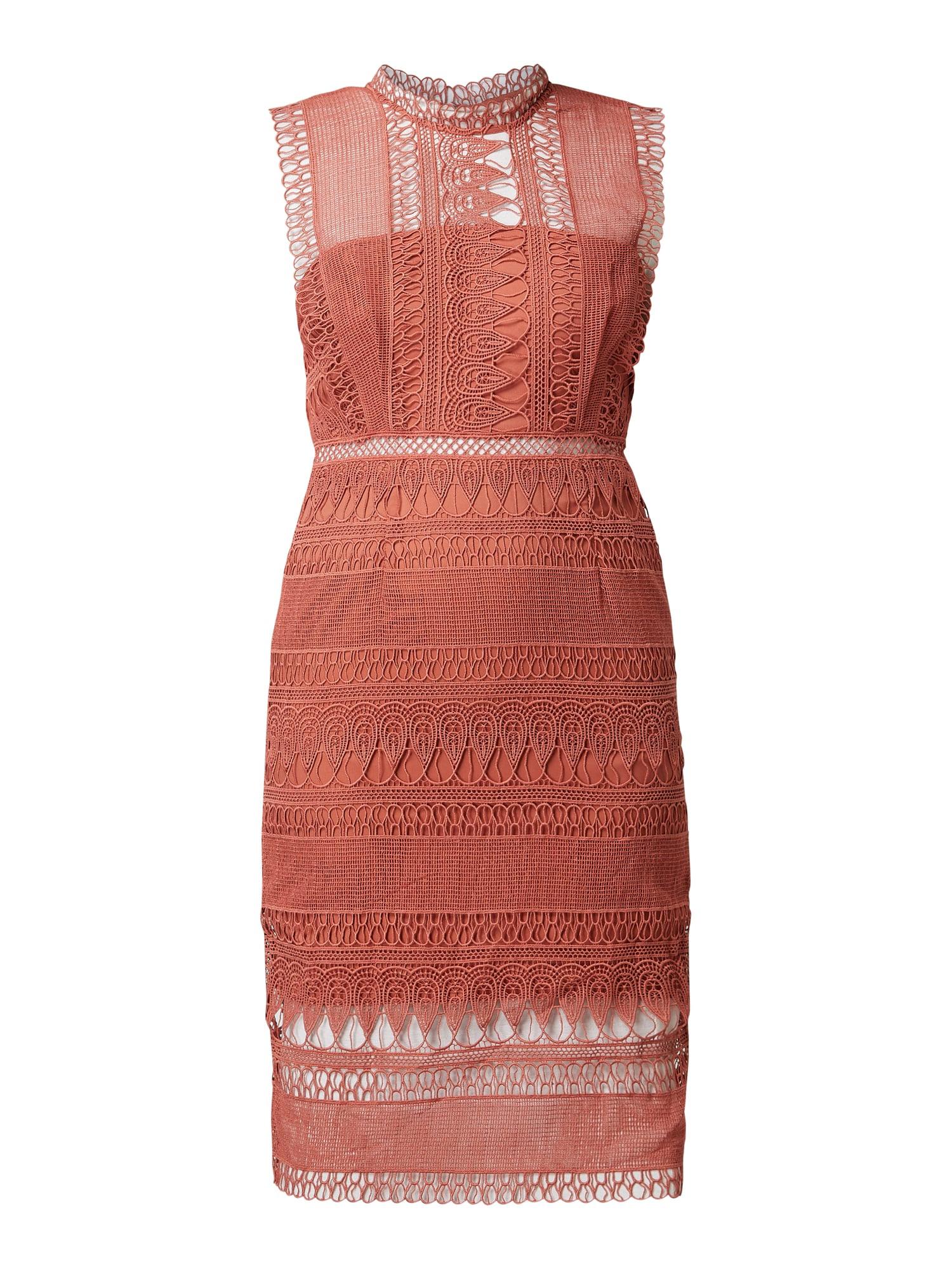 Bardot Kleid Aus Häkelspitze In Rot Online Kaufen 1009581