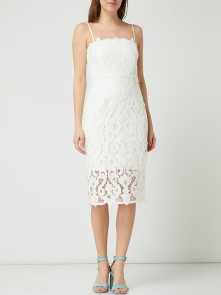 Bardot Kleid Aus Spitze Modell 'Lina' In Weiß Online