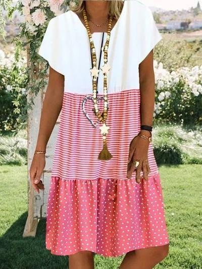 Baumwolle Batik Lässig Normal Kleider In 2020  Legere