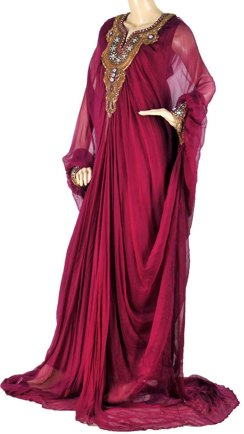 Beautiful For A Party  Kleider Arabische Mode Modestil