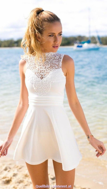 Befriedigend Weiße Sommerkleider Damen 105 Verblüffende