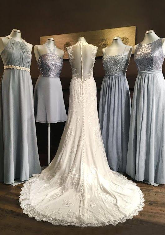 Bei Einer Hochzeit Trägt Natürlich Die Braut Das Kleid Der