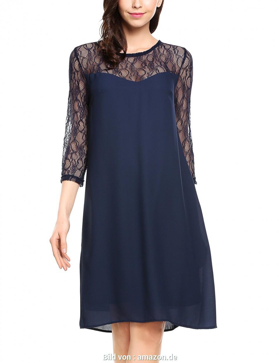 Beiläufig Amazon Elegante Kleider Damen Abendmode Elegant