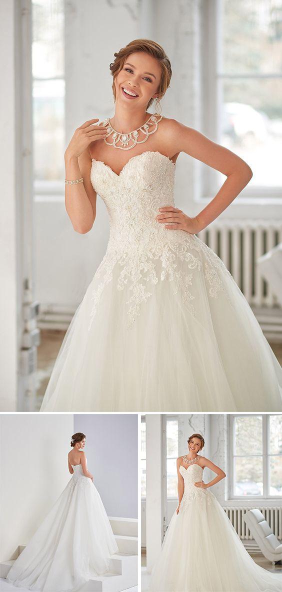 Beim Brautkleidmodell Valerie Handelt Es Sich Um Ein