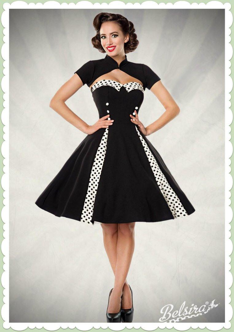 Belsira 50Er Jahre Rockabilly Petticoat Kleid  Isabella