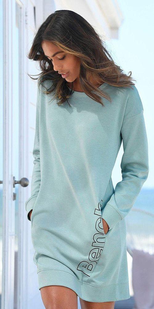 Bench Lm  Bench Sweatkleid Im Heine Onlineshop Kaufen