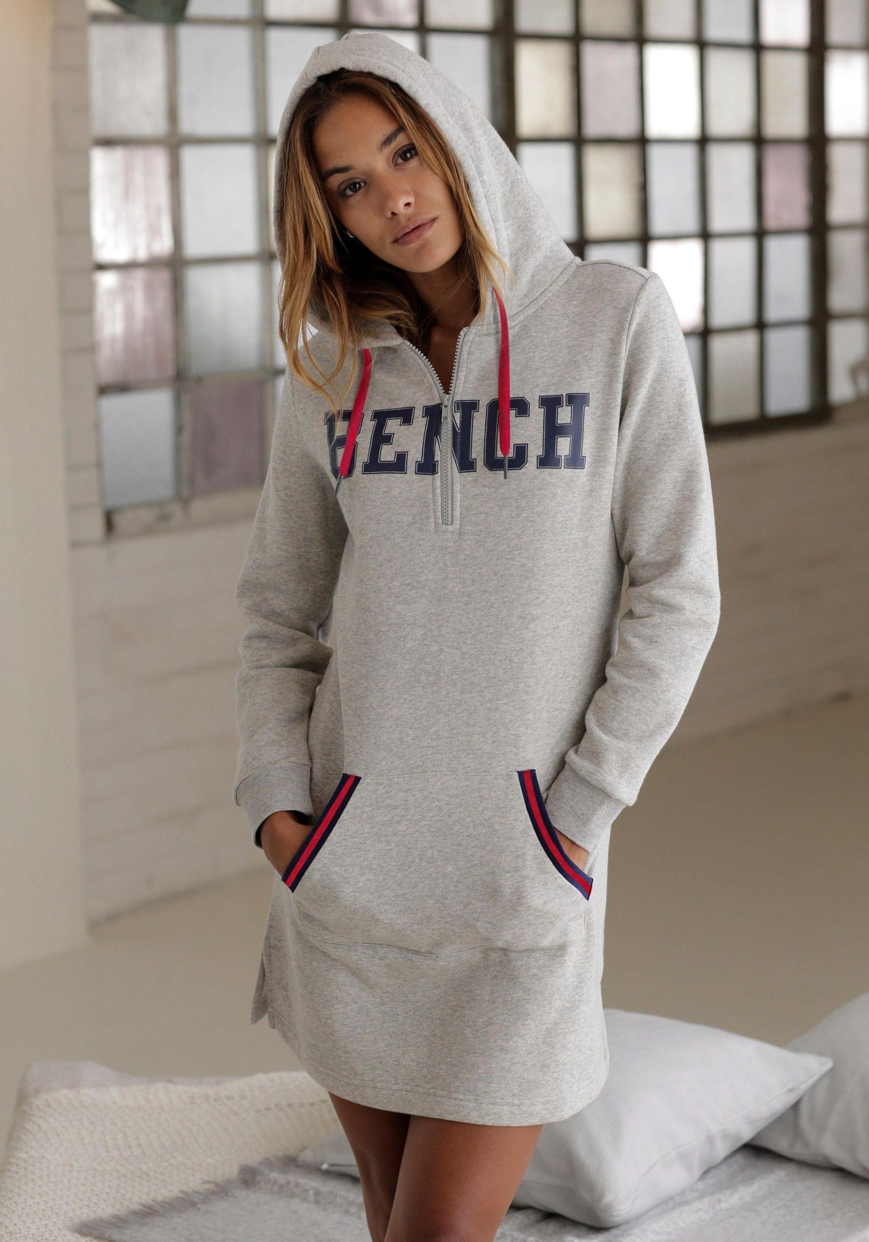 Bench Sweatkleid Bestellen  Imwalkingde  Modetrend