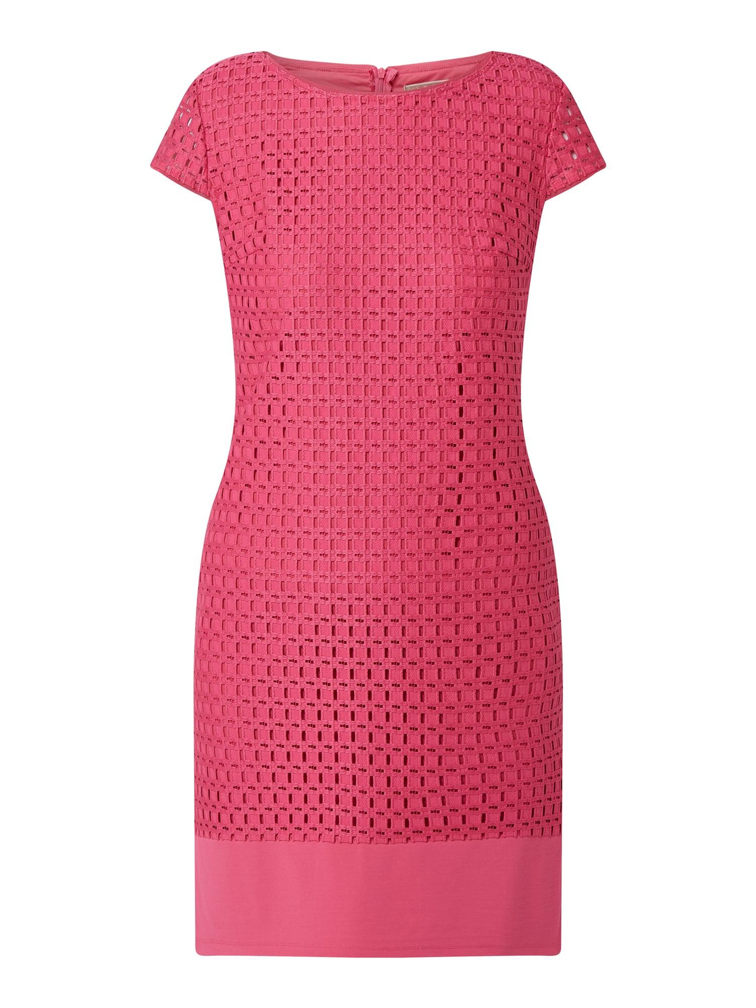 Betty Barclay Kleid Mit Lochmuster In Rosé Online Kaufen