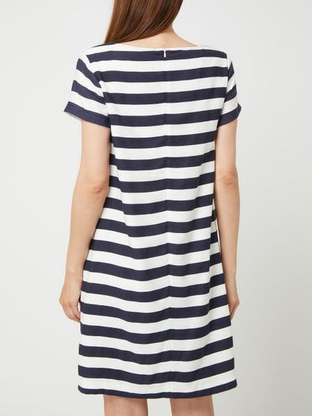 Betty Barclay Kleid Mit Streifenmuster In Blau / Türkis